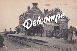 Zeveneken - Statie / Gare - Lochristi