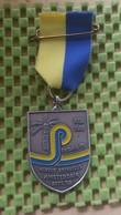 Medaille :Netherlands  - Hortus Botanicus Amsterdam 1682 - Sep 1982.  / Vintage Medal - Walking Association - Nederland