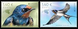 2019 Estonia, Europa, CEPT, National Birds, 2 Stamps, MNH - 2019