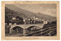 TREPPO CARNICO - Pont Animé Et Panorama De La Ville - Ponte Animato E Panorama Della Citta - Udine