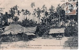 Indochine (1889-1945) N°42 Sur Carte Postale -CAP-SAINT JACQUES - Indochine (1889-1945)