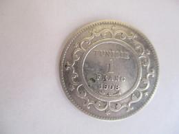 Tunisie: 1 Franc 1908 - Tunisie