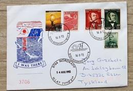 1993 16. Aug. Schmuckbrief Nordkapp Mit Sonderstempel - Norwegen