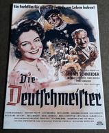 """ROMY SCHNEIDER / Hans Moser / Magda Schneider Im Film """"Die Deutschmeister"""" # NFB-Filmprogramm (8 Seiten) # [19-16] - Film & TV"""