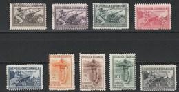1938 Homenaje Al Ejercito Popular. Ed 792-800 - 1931-Aujourd'hui: II. République - ....Juan Carlos I