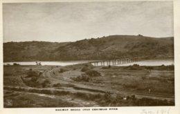 SOUTH AFRICA -  RPPC Railway Bridge Over Umkomaas River 1916 - South Africa