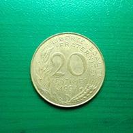 20 Centimes Münze Aus Frankreich Von 1997 (vorzüglich) II - Frankreich
