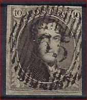 Nr. 6 Met Distributiestempel D65 Van WARNANT-DREYE ; Staat Zie Scan ! Inzet Aan 1 € ! - 1851-1857 Médaillons (6/8)