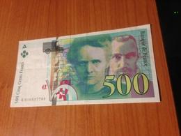 500 F -  Pierre Et Marie Curie 1994 -  TTB    (port à Ma Charge ) - 1992-2000 Ultima Gama
