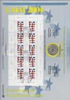 Bund Numisblatt 2004-2 Erweiterung Der EU 10,00 Euro - [ 7] 1949-…: BRD