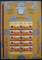 Bund Numisblatt 2009-5 Jugendherbergen 10,00 Euro - [ 7] 1949-…: BRD