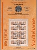 Bund Numisblatt 2006-4 Städtehanse 10,00 Euro - [ 7] 1949-…: BRD