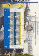 Bund Numisblatt 2002-2 U-Bahn 10,00 Euro - [ 7] 1949-…: BRD