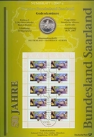 Bund Numisblatt 2007-1 Saarland 10,00 Euro - [ 7] 1949-…: BRD