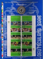 Bund Numisblatt Fußball-WM 2003 10,00 Euro - [ 7] 1949-…: BRD