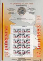 Bund Numisblatt 2003-3 17. Juni 1953 10,00 Euro - [ 7] 1949-…: BRD