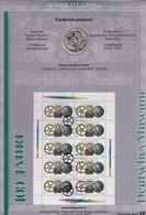 Bund Numisblatt 2003-1 Deutsches Museum 10,00 Euro - [ 7] 1949-…: BRD