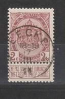 COB 55 Oblitération Centrale Relais étoile EECKE - 1893-1900 Thin Beard