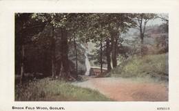 Postcard Brook Fold Wood Godley [ Nr Hyde ]  My Ref  B13560 - Other