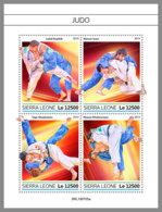 SIERRA LEONE 2019 MNH Judo Fighters Kämper Combattans M/S - OFFICIAL ISSUE - DH1934 - Judo