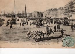 MARSEILLE - Quai Du Vieux Port - - Vieux Port, Saint Victor, Le Panier