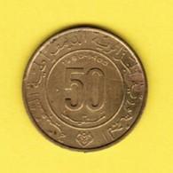 ALGERIA  50 CENTIMES 1980 (KM # 111) #5385 - Algeria