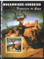 Mozambique, 2001. Painting, Francisco De Goya (block) - Arts