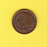 AUSTRALIA  1 CENT 1974 (KM # 62) #5387 - Cent