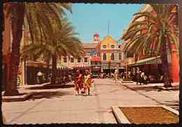 CURACAO - ANTILLES NETHERLANDS - Willemstad Shopping Center On The Da Costa Gomezplein  - Vg - Curaçao