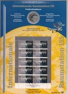 Bund Numisblatt 2004-5 Raumstation ISS 10,00 Euro - [ 7] 1949-…: BRD