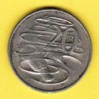 AUSTRALIA  20 CENTS 1980 (KM # 66) #5390 - Decimal Coinage (1966-...)