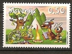 "ESLOVENIA// SLOVENIA // SLOWENIEN-EUROPA  2007-"" A CENTENARY SCOUT -EUROPA-CEPT""- SERIE De 1 V. - 2007"