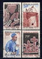 DAHOMEY - 235/238°  - FESTIVAL MONDIAL DES ARTS NEGRES - Benin - Dahomey (1960-...)