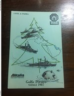 Natale Golfo Persico 1987 - Militaria