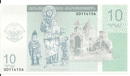 NAGORNO KARABAKH 10 DRAM 2004 AUNC - Nagorno    Karabakh