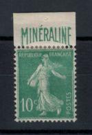 Yvert 188 A Minéraline - Très Bien Centré - Traces Charnière - Voir Scans - France