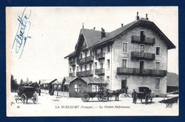 Le Col De La Schlucht. Poste- Frontière Franco-allemand.Chalet-Hôtel Defranoux. Douaniers. Calèches. - Customs