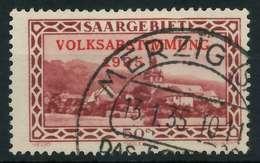 SAARGEBIET 1934 Nr 185 Gestempelt X886536 - 1920-35 Société Des Nations