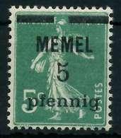 MEMEL 1920 Nr 18b Postfrisch X887D56 - Memelgebiet
