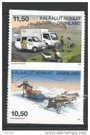 Groënland 2013, N°611/612 Neufs, Europa Adhésifs Issus De Carnet - Ungebraucht