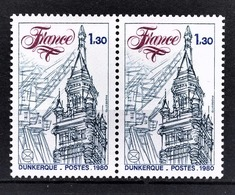 FRANCE  1980 - PAIRE Y.T. N° 2088 - NEUFS** - France