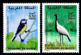 7660  Songbirds - Cranes - Maroc - MNH - 1,50 - Oiseaux