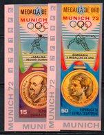 ETP332 - GUINEA EQUATORIALE , POSTA AEREA  Serie  NON Dentellata. ***  MNH (2380A) . MONACO 1972 - Summer 1972: Munich