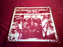 THE SWINGING SINALL BANDS 1   1937 / 1939 - Jazz