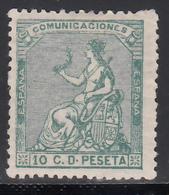 1873 Edifil Nº 133 MH,  Alegoría De España. - Nuevos