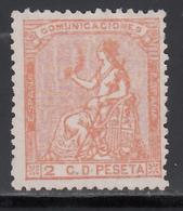 1873 Edifil Nº 131 (**),  Alegoría De España. - Nuevos