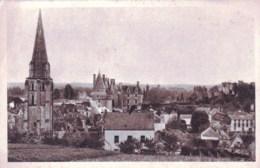 37 - Indre Et Loire - LANGEAIS  - Vue Generale Sur Le Chateau Et L Eglise - Langeais