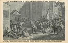 """CPA FRANCE 49 """"Saint Florent Le Vieil, 1793"""" - Autres Communes"""