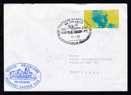 DEUTSCHE SCHIFFSPOST MS ATLANTIS 1952 2002 50 Jahre REEDEREI CASSEN EILS NORD- - Unclassified