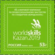 Russia 2019 RUSIA RUSSIE RUSSLAND #2499. 45th WorldSkills Standards Championship 1 V MNH ** - 1992-.... Federation